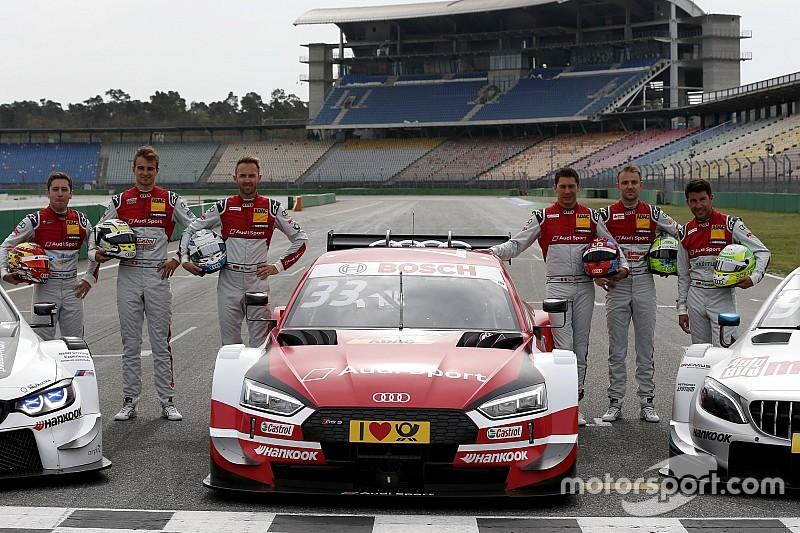 Audi anuncia su alineación de pilotos para el DTM 2019