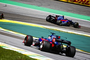 Forma-1 Jelentés a versenyről Bár pontszerzés nincs, a toro rossósok elégedettek a brazil futammal