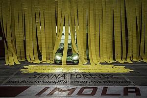 """Lamborghini Super Trofeo Curiosità """"Thousand memories"""": da Sant'Agata a Imola nel ricordo di Senna"""