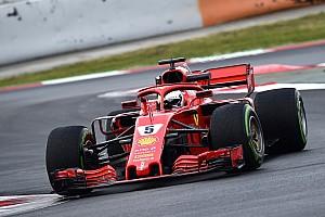 Formule 1 Résumé d'essais Barcelone, J2 - Vettel se place avant la neige