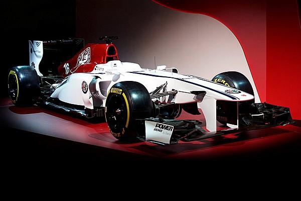 Sauber presentó su concepto de decoración con Alfa Romeo