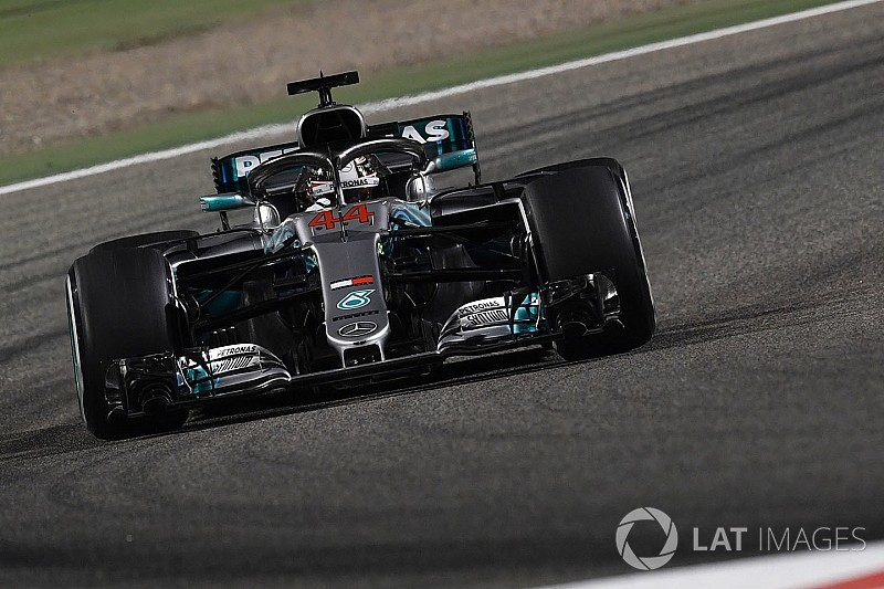 Hamilton perde cinco posições no grid do Bahrein