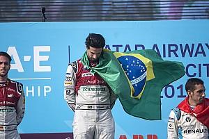 كاسترونيفيز ودي غراسي يمثلان فريق البرازيل في سباق الأبطال