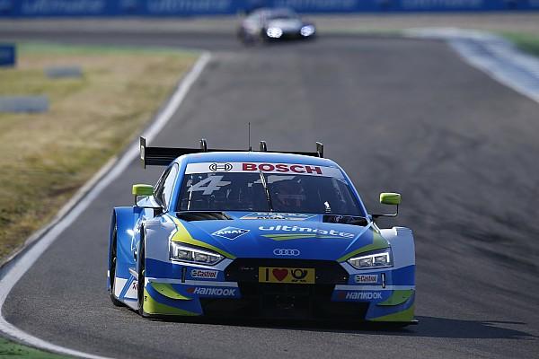 DTM Ziel verfehlt? Schwieriger Einstand für Audi-Rookie Frijns