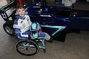 Billy Monger tes single-seater perdana sejak amputasi kaki
