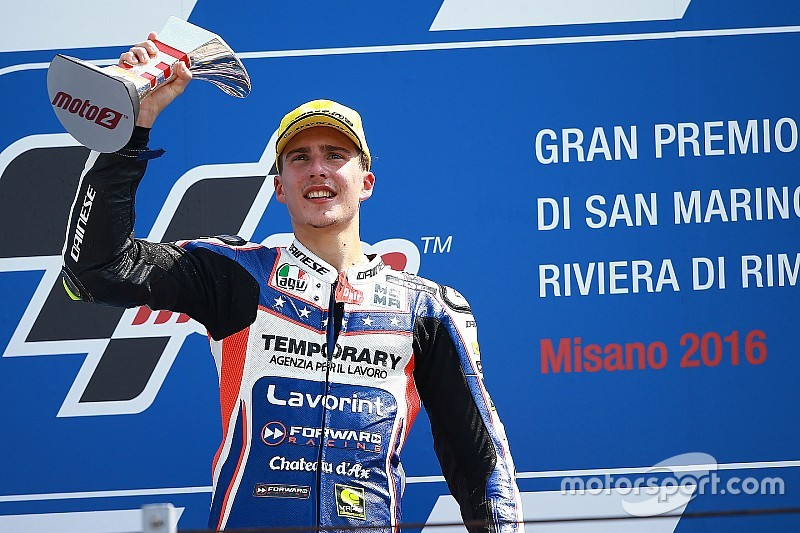 Moto2 Misano: Baldassarri menangi duel epik lawan Rins