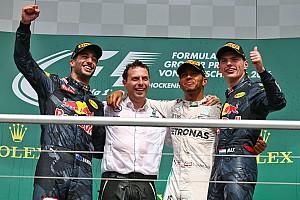 Formula 1 Race report German GP: Hamilton wins, Rosberg penalised for Verstappen pass