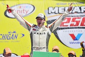 NASCAR Xfinity Rennbericht Xfinity Michigan: Daniel Suarez erkämpft sich ersten NASCAR-Sieg