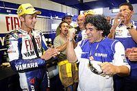 La relación de Maradona con el deporte motor
