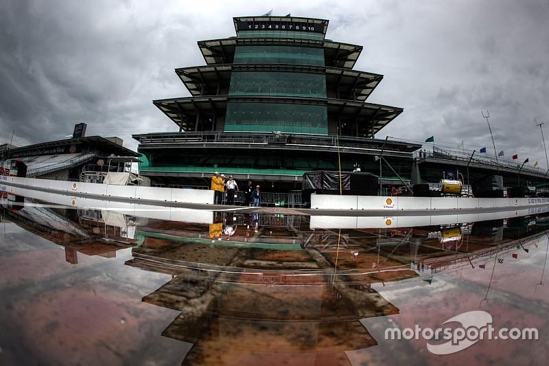 La lluvia obliga a cancelar la clasificación de Indianápolis y Kyle Busch saldrá en la pole