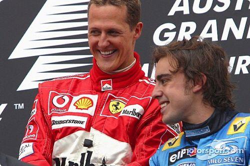 Alonso geeft 'geweldig talent' Schumacher voorkeur boven Hamilton