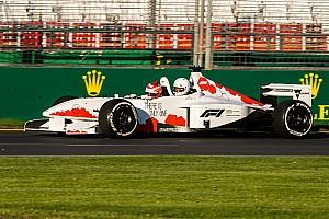 TCR car to race Minardi F1 at Australian Grand Prix