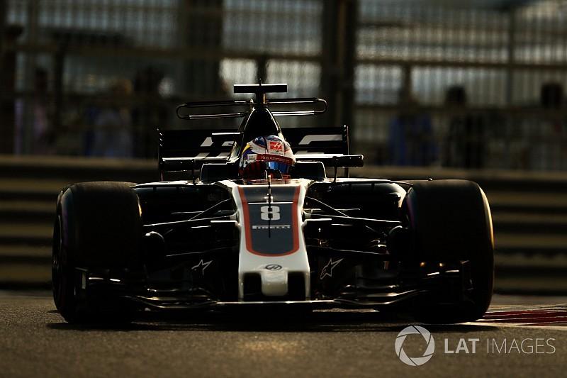 Grosjean: Araç Magnussen'e daha fazla uyuyor