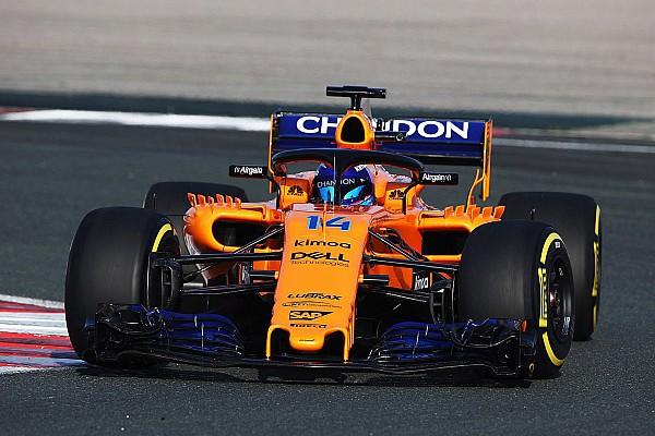 Formula 1 Breaking news McLaren's Renault-engined 2018 F1 car makes track debut