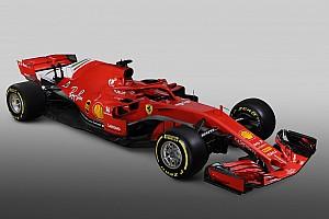 Pela internet, Ferrari exibe novo modelo SF71H para 2018