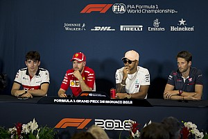 Formula 1 Press conference Monaco GP: Wednesday's press conference