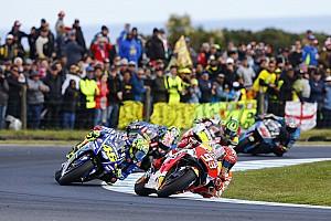 MotoGP Rennbericht MotoGP-Thriller auf Phillip Island: Marc Marquez siegt vor Valentino Rossi