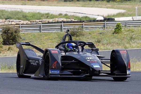 Photos - Felipe Massa au volant en FormuleE