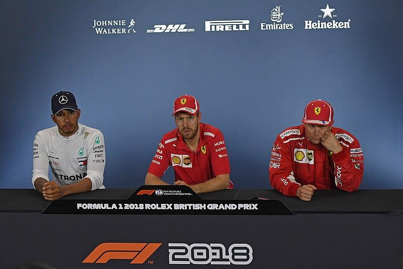 Vettel noemt beschuldiging Mercedes 'nogal dom', Hamilton boos
