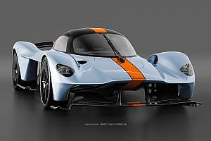 GALERÍA: el Aston Martin Valkyrie en numerosos esquemas de color