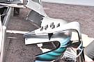Mercedes: ecco i generatori di vortice sulle pance della W09