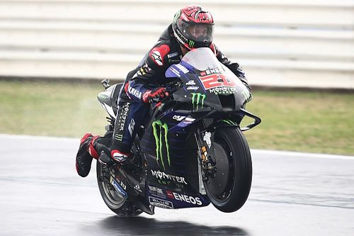 """Quartararo: """"Yamaha, ıslak antrenman turlarında 'büyük bir adım' attı"""""""