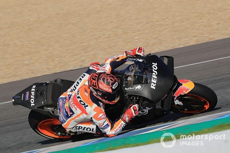 Test MotoGP Jerez, Giorno 2: alle 12:30 Marquez detta il passo e si rivede Rins