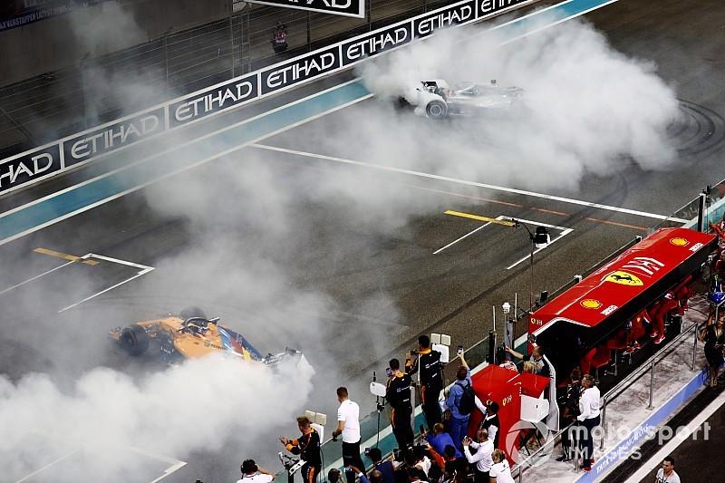 Alonso ringrazia Hamilton e Vettel per la passerella finale: