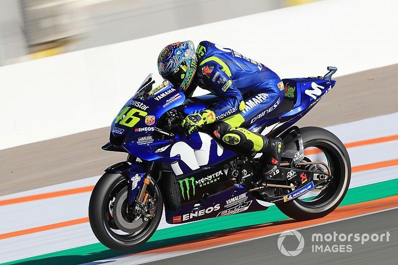 """Rossi twijfelt over nieuwe motorblokken: """"Snelheid nog niet fantastisch"""""""