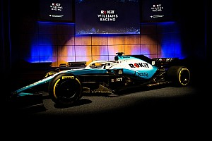 威廉姆斯携新冠名商发布FW42涂装