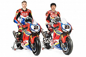 Honda unveils bike for factory World Superbike return