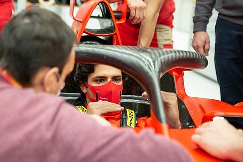 Sainz to make Ferrari F1 test debut at Fiorano