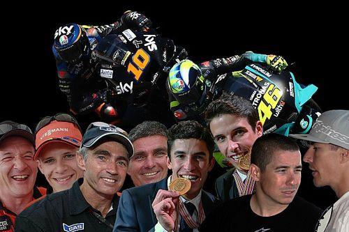 Familien im Motorradrennsport: Bradl, Doohan, Hayden, Marquez, Rossi & Co.
