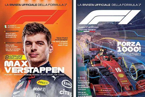 Chi l'ha più vista la rivista ufficiale della F1 in italiano?