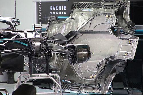GALERÍA TÉCNICA: desarrollos técnicos de los F1 para Sakhir