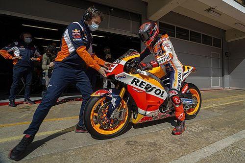 Вернувшийся Маркес оценил ситуацию в Honda. Она далека от идеала