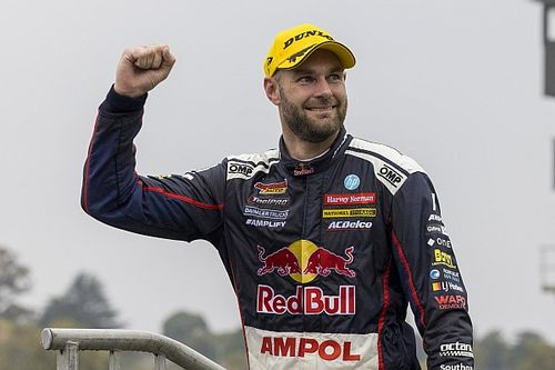 Supercars points leader van Gisbergen off painkillers since Sandown