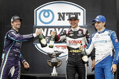 【インディカー】第5戦インディGP:ヴィーケイ初優勝。グロージャン4秒差で2位