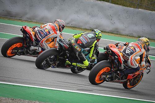 """Apesar de evolução tecnológica, Márquez e Rossi defendem que MotoGP segue um campeonato """"de pilotos"""""""