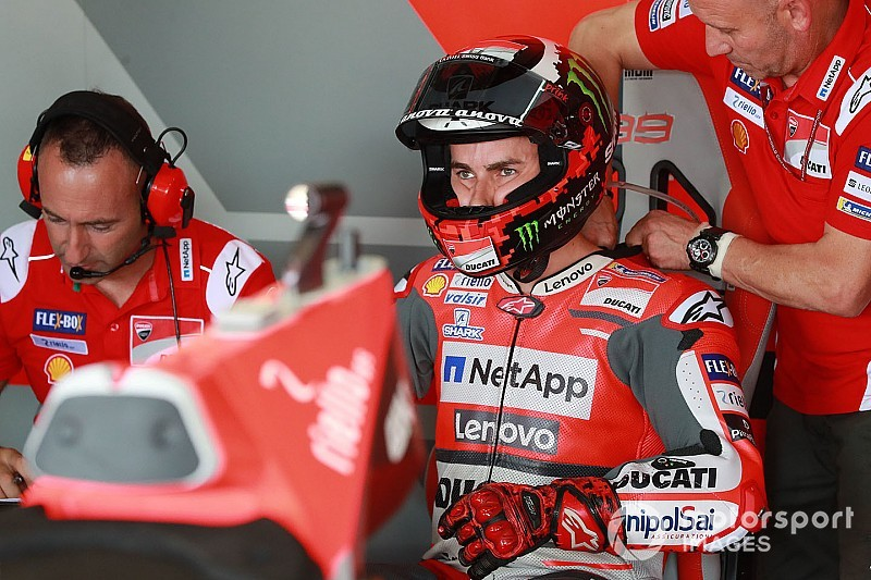 Lorenzo withdraws from Motegi MotoGP round