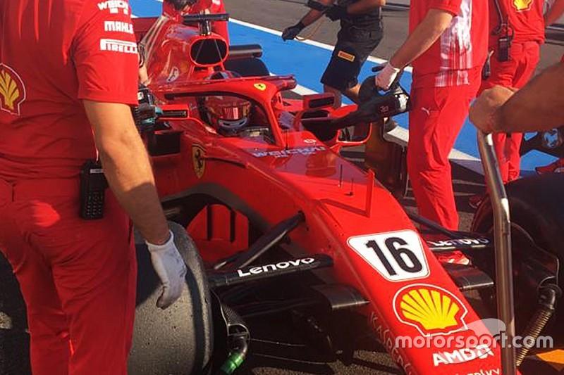 Leclerc tuntaskan tes F1 Pirelli bersama Ferrari