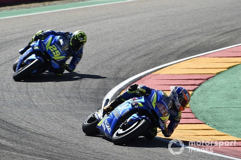 Suzuki kehilangan konsesi, Rins tidak cemas