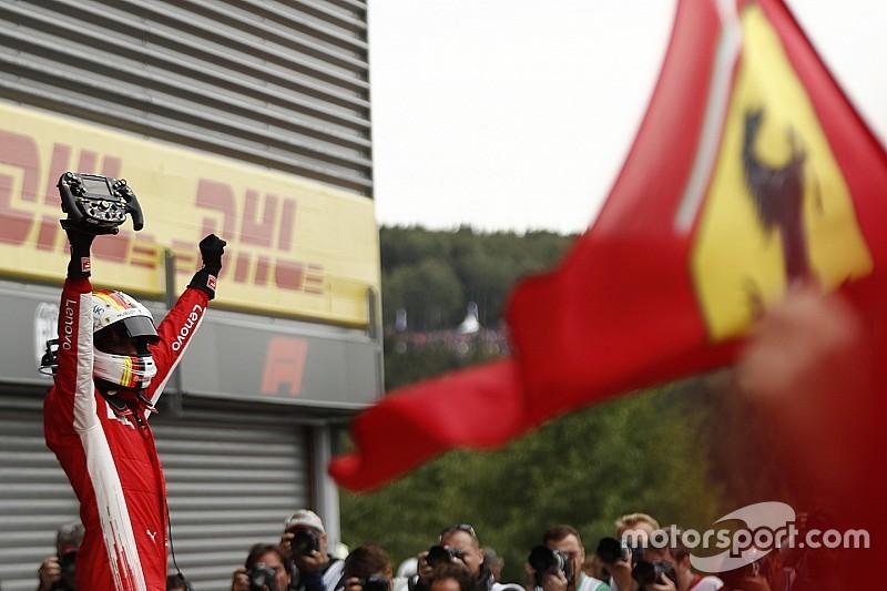 Vettel, Ferrari'nin yeni motorunu övdü