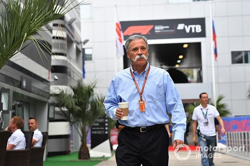 Carey, F1'in geleceğini tartışmak üzere takım patronlarıyla toplantı yaptı