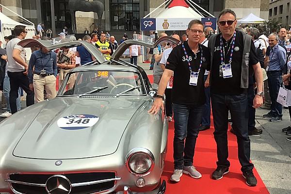 Mille Miglia: Chinchero con Maylander sulla Mercedes 300 SL ufficiale!