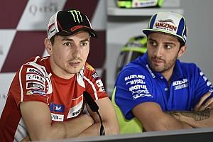 MotoGP News Jorge Lorenzo: Leute wie Iannone sind wie Fliegen und werden nie Weltmeister