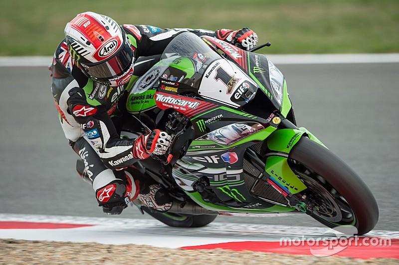 WSBK Jerez: Rea, Davies & Melandri stürzen, Yamaha stark