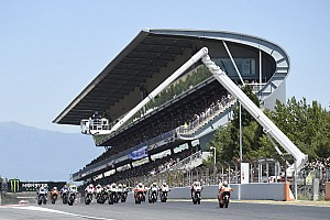 MotoGP Breaking news Barcelona agrees to resurfacing to save place on MotoGP calendar