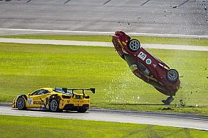 Ferrari Важливі новини Ferrari Challenge: аварія з потрійним переворотом