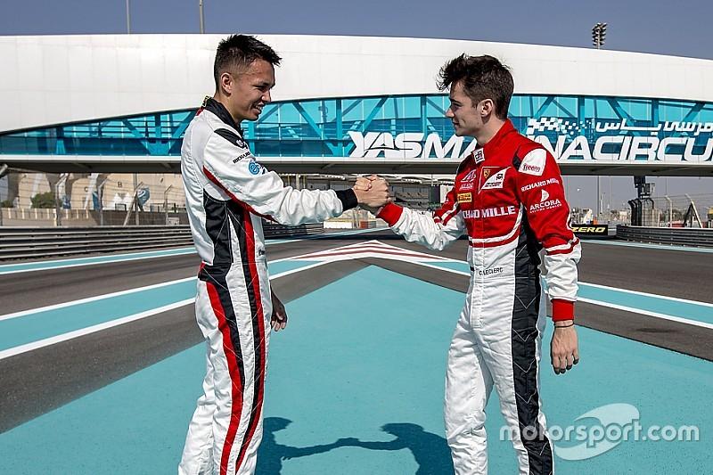 Leclerc hoopt dat Albon kans krijgt bij Toro Rosso